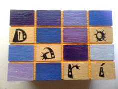 Cajas de madera decoradas artesanalmente