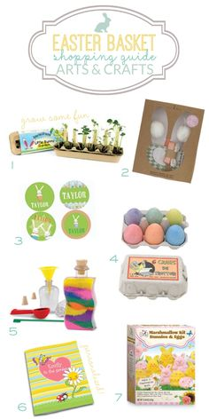 Easter Basket Shopping Guide: Arts & Crafts gift ideas