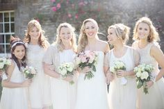 bridesmaid dress, edinburgh, galleri, white style, pastel pink, country weddings, bridal parti, dress styles, photography