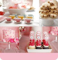 tea party birthday, tea parti, finger sandwiches, tea sandwiches, mini cupcakes