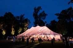 Rustic + Romantic Ojai Valley Inn Wedding by All You Need is Love Events; wedding tent lighting