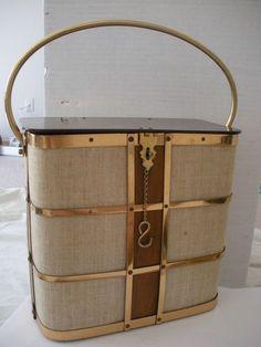 Vintage 1950's Stylecraft Miami Box Handbag Purse