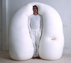 Unusual bed