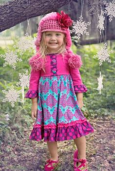 Girls Berry Sweet Dress 4 to 6X Now in Stock