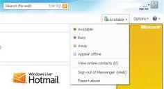 """Aperçu de la boite de réception de la messagerie HOTMAIL en Français. Aujourd'hui Hotmail est devenu Outlook mais vous êtes encore très nombreux à utiliser le nom """"hotmail"""" pour désigner votre webmail."""