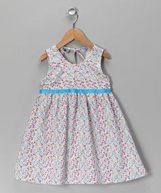 Take a look at this Pastel Peace Halter Dress - Toddler & Girls by Moo Boo's on #zulily today!