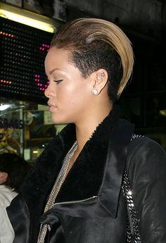 Rihannas new hairstyle