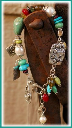 Handcrafted charms.