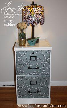 Update a filing cabinet