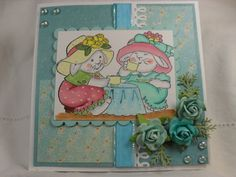 Tea Time card by Tracy Gray