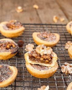 Maple Butter Tarts #pastry #pie #Christmas