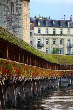 Lucerna SuizaLucerna, en el Camino de Suizos. Vía suiza del Camino Español.