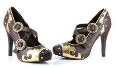 Steampunk Heels | Steampunk Shoes