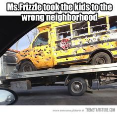 Dammit Ms. Frizzle…