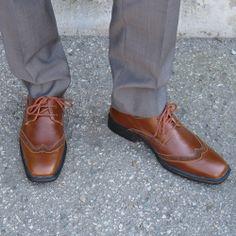 Carl Brown Men's Wingtip Vegan Dress Shoe