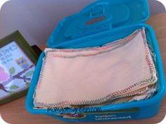 DIY Cloth Wipes   momgonegreen.com