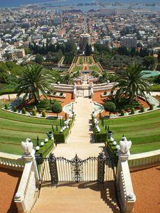 Haifa Israel, Baha'i World Center Terraces