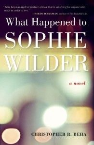 "Read This, Then That: WHAT HAPPENED TO SOPHIE WILDER and THE END OF THE AFFAIR. Just put the first on my ""to read"" list - I think I have read the latter - will have to re-read."