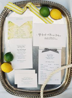 Citrus summer wedding from Michael and Carina Photography