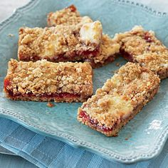 Strawberry-Cream Cheese Bars | MyRecipes.com
