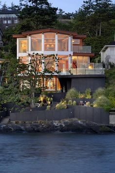 Waterfront Residence in Gonzales Bay, Victoria, BC