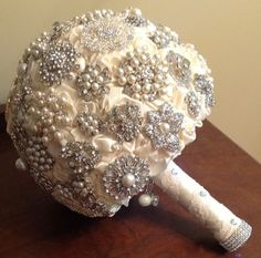 Make a bold statement with this custom Grande Brooch Bouquet designed especially for your day. $325.00