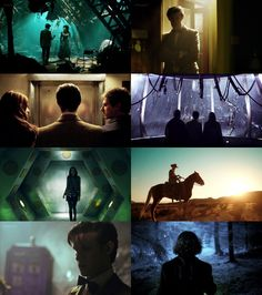 Doctor Who + Silhouettes