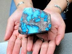 Bisbee Turquoise Specimen.. Over 1..25 lbs. perry null trading company