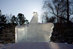 "Frozen ""Like"" at new #Facebook #Datacenter #Luleå Data Center #Sweden #FlowConnection"