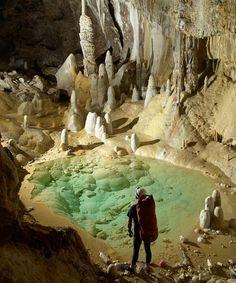 Lechuguilla Cave, Carlsbad Caverns National Park, NM