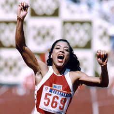 Florence Griffith-Joyner won 3 gold medals in the track and field in 1988