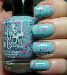 Girly Bits: The 80s Girl Band Collection - Swatches and Review | Pointless Cafe