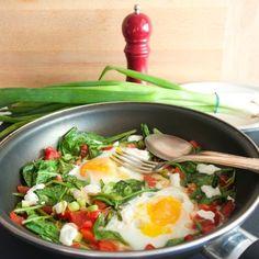 Easy egg bake