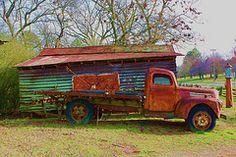 I love old trucks.
