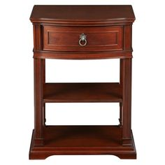 Find it at bombaycompany.com  - Herning Night Stand - Antique Mahogany