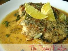 Chicken with Orange-Pepitoria Sauce by The Foodies' Kitchen, via Flickr