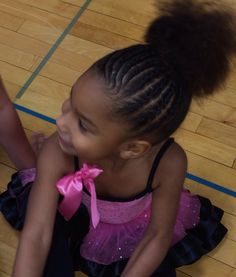 Cornrows, toddler hairstyle