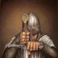 Templar in prayer!
