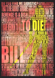 Kill Bill art print.