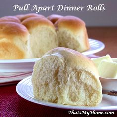 Pull Apart Dinner Rolls - That's My Home
