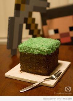 Minecraft Cake (for Livie's bday!!!)