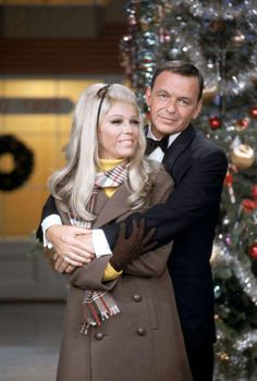 Nancy and Frank Sinatra on the Dean Martin show