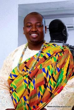 Ghanaian groom