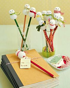 I love snowmen!!!!  So trying a few of these this Christmas with the girls!