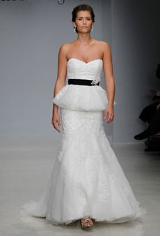 Brides: Spring 2013 Wedding Dress Trends Peplums Brides.com