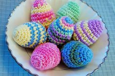 Crocheted Easter Egg Pattern