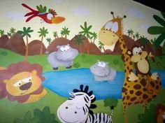 Murales Infantiles, Trampaojo, Paisajes. Murales Pintados