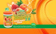 Youngevity... gotta love a good tangerine!