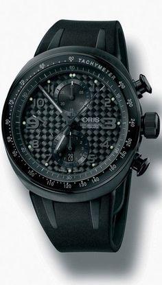 Oris TT3 Black Chronograph