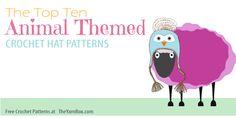 10 Free Animal Hat Crochet Patterns - The Yarn Box